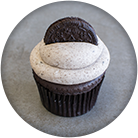 cookies and cream vegan cupcake