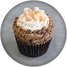 kona coffee vegan cupcake
