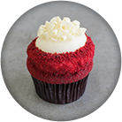 southern red velvet cupcake